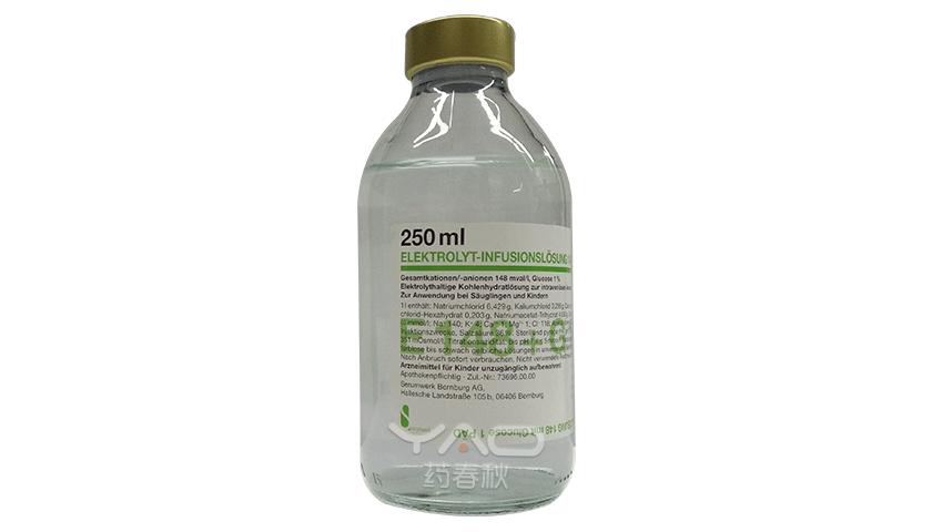 ELEKTROLYT-INFUSIONSLÖSUNG 148 mit Glucose 1 PÄD