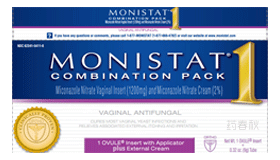 MONISTAT 1 COMBINATION PACK